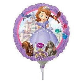 """Mini fóliový balón Sofia 9"""""""