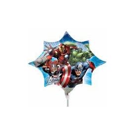Mini foliový balón Avengers star