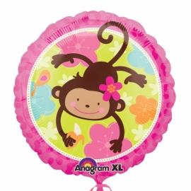 fóliový balón opička