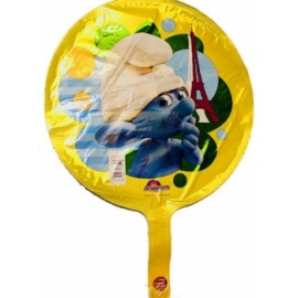 Mini foliový balón Šmolkovia