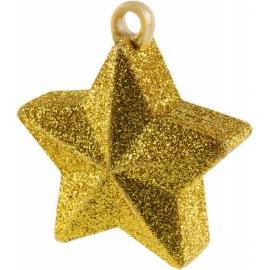 Závažie na fóliové balóny -zlatá hviezda*