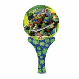 Ručný fóliový balónik Ninja Korytnačky