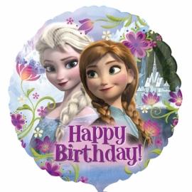 Foliový balón Frozen Happy Birthday