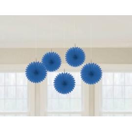 Mini rozetky modré