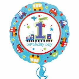 Foliový balón 1.narodeniny B-day Boy