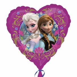 Fóliový balón srdce Frozen