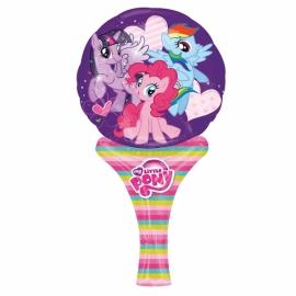 Ručný fóliový balónik My Little Pony