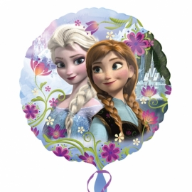Foliový balón Frozen flowers