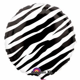 fóliový balón zebra