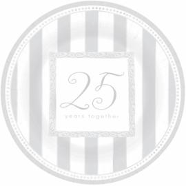 Tanierik malý 25 together silver