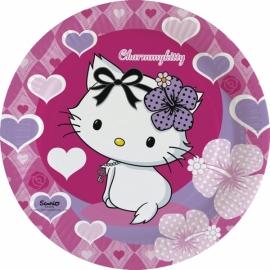 Tanierik veľký Charmmy Kitty hearts