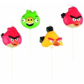 Sviečky Angry Birds