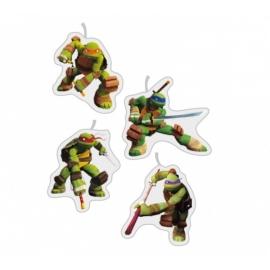 Mini sviečky Ninja korytnačky