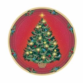 Tanierik žiarivé Vianoce