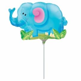 Mini fóliový balón sloník