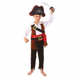 Kostým pirátsky korzár 3-5 rokov