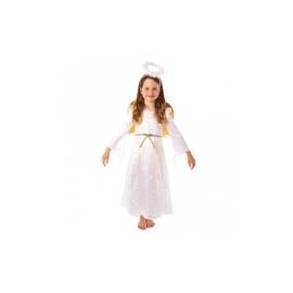 Kostým biely anjelik 3-5 rokov